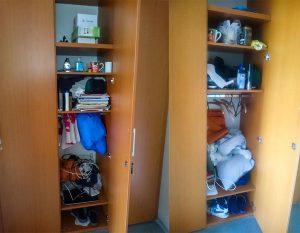 Veci na internat, bordel v mojej skrini