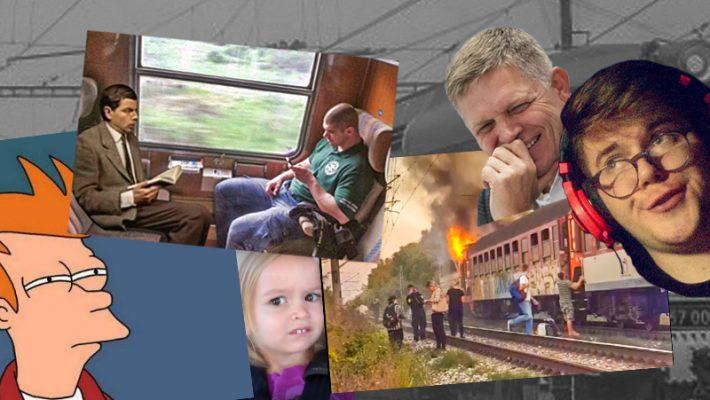 Slovenské vlaky proste milujem