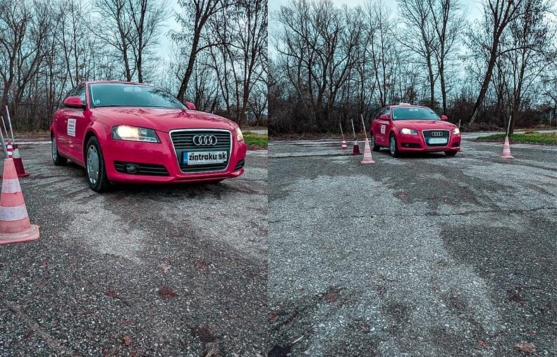 Autoškola skúšky otázky policajta. Na takomto aute som v autoškole robil skúšky ja. Červená autoškola Audi A3 Piešťany.